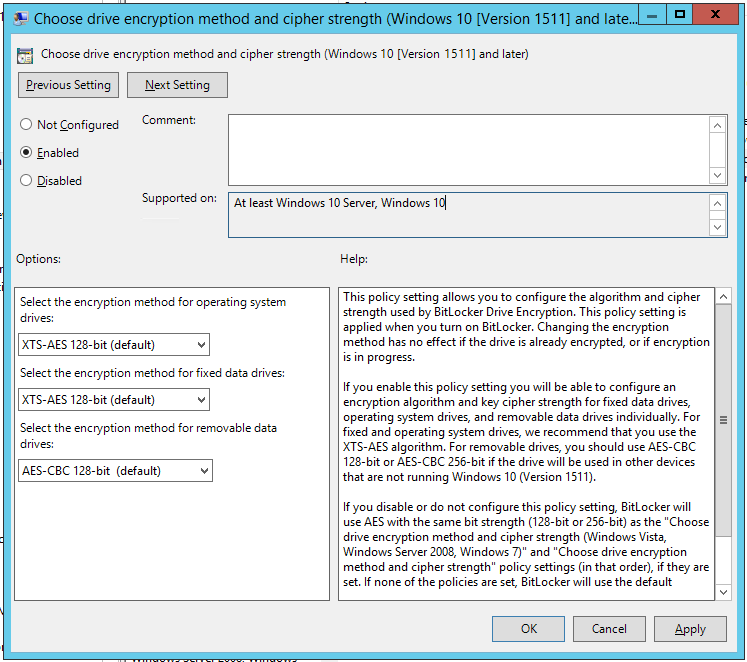 What S New In Admx Templates For Windows 10 Version 1511 Secure