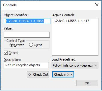 Recover LAPS passwords from deleted objects and delegate